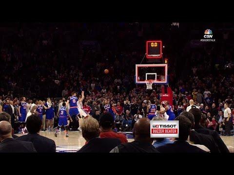 Tissot Buzzer Beater: T.J. McConnell Turnaround Jumper to Beat Knicks | 01.11.17