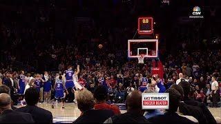 T.J. McConnell Turnaround Jumper to Beat Knicks | Tissot Buzzer Beater | 01.11.17 thumbnail