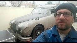 Sortie de grange Jaguar MK1 après  40 ans de sommeil