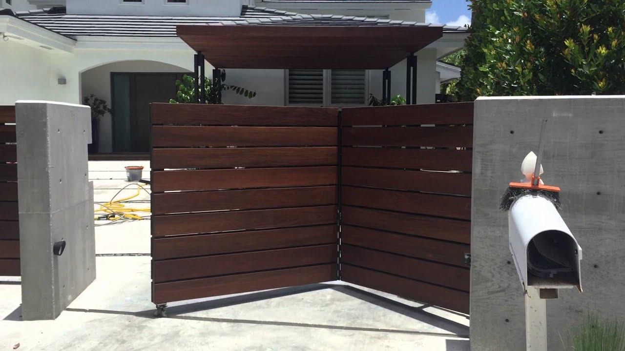 Bi Fold Swing Gate By Aa Same Day Garage Door Service Inc