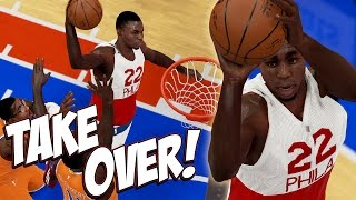 NBA 2K15 76ers MyGM #12 - Andrew Wiggins Takes Over In 4th, Turning Into A Franchise Player!
