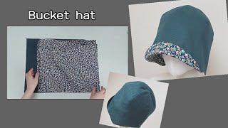 [5교실 소품만들기]벙거지모자(bucket hat)만들…