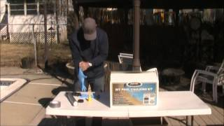 DIY Pool Caulking Kit Video