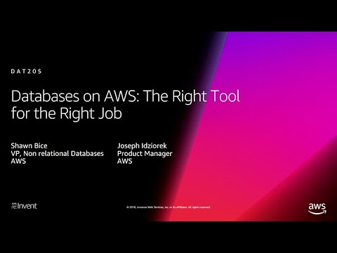 AWS re:Invent 2018: