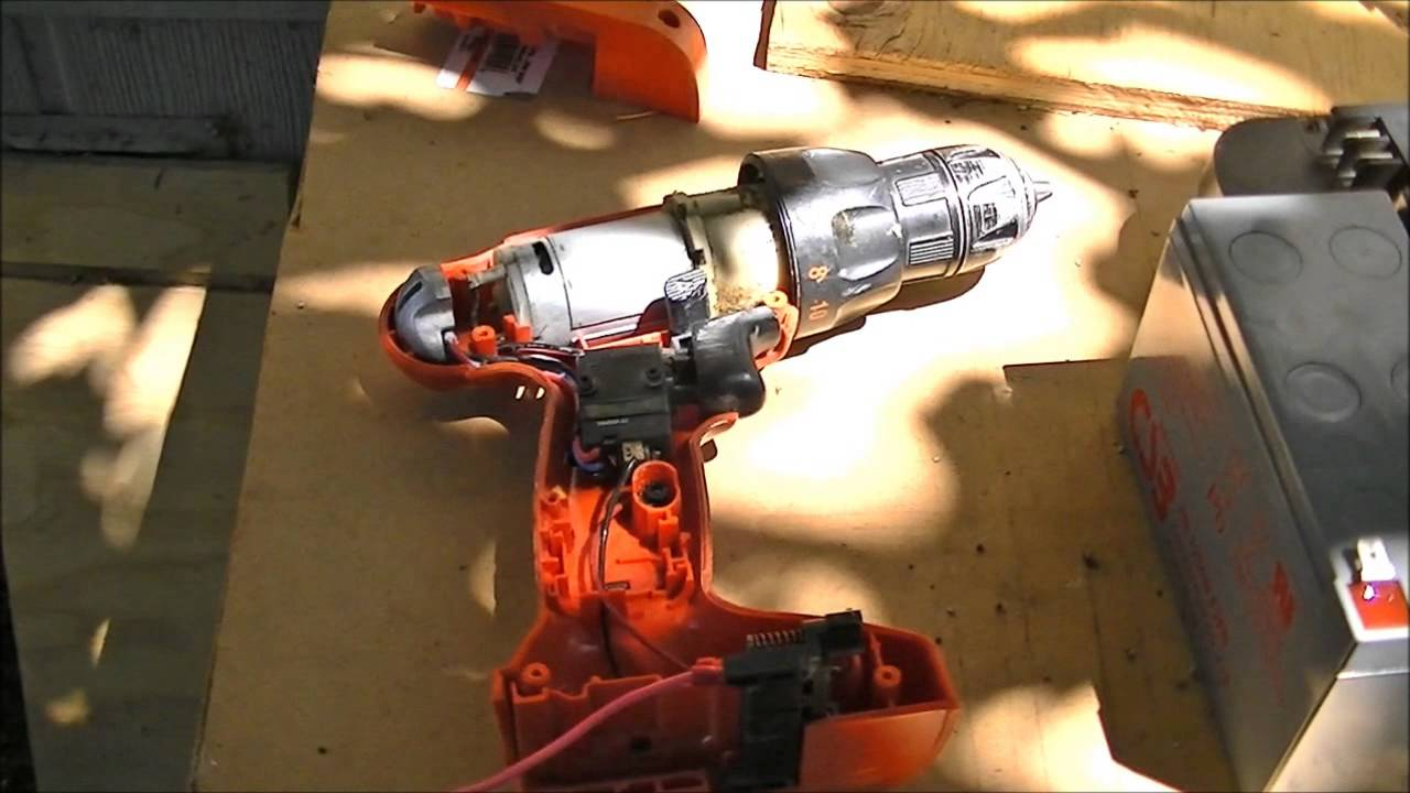 Cordless Electric Drill Switch DC Motor Control  YouTube