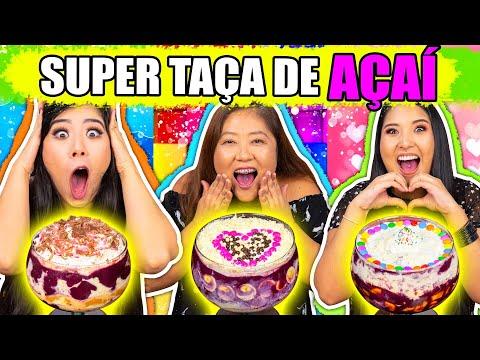 SUPER TAÇA DE AÇAÍ CHALLENGE COM NOSSA MÃE!! | Blog das irmãs