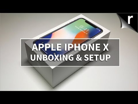 Apple IPhone X Unboxing & Hands-on Review (UK Model)