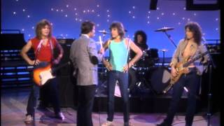 Dick Clark Interviews  - Chilliwack American Bandstand 1982