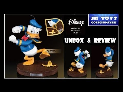 Disney Miracle Land ML-003 Donald Duck Statue PX Previews Exclusive