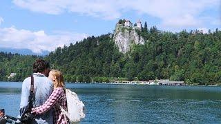 Путешествие на горное озеро Блед   Словения