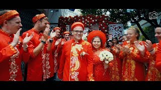 Phóng sự cưới | Benjamin ♥ Lệ Dung - Wedding ceremony [DN Studio]