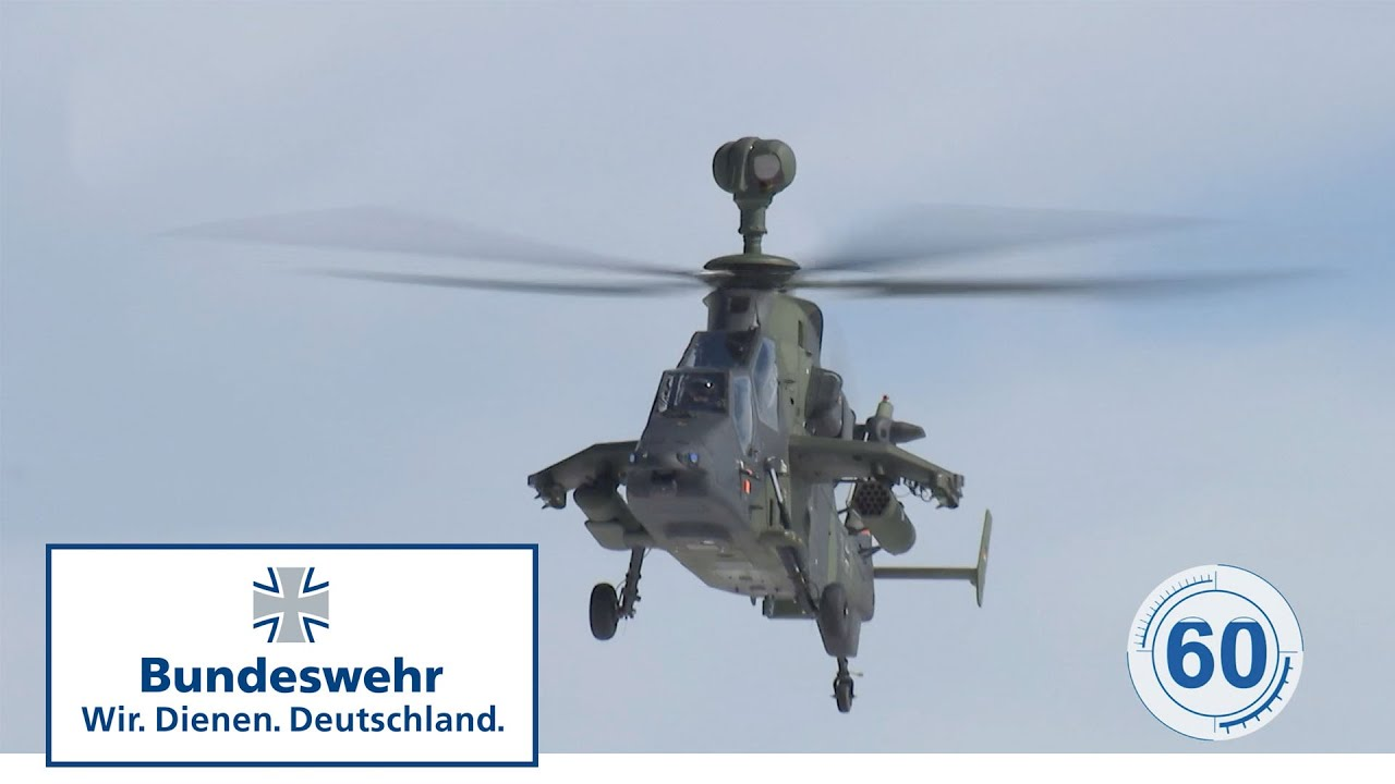 Laser Entfernungsmesser Bundeswehr : Sekunden bundeswehr kampfhubschrauber tiger youtube