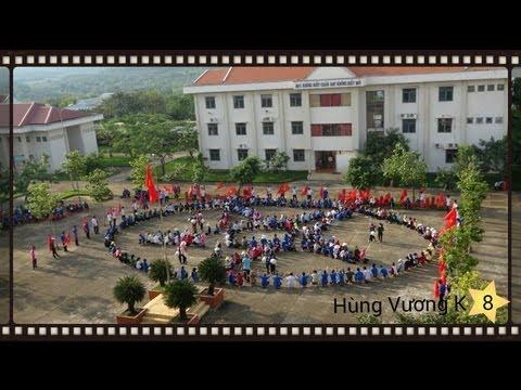 Tập Khai Giảng 2013 THPT Hùng Vương Bình Phước