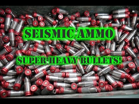 SHOT Show: Seismic Ammo's Extremely Heavy Projectiles in 9mm