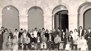 1976 David Lipscomb Chorale: One Day as I was a-Walking