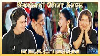 Saajanji Ghar Aaye Reaction! | Kuch Kuch Hota Hai | Shah Rukh Khan | Kajol | Alka | Salman Khan!?!