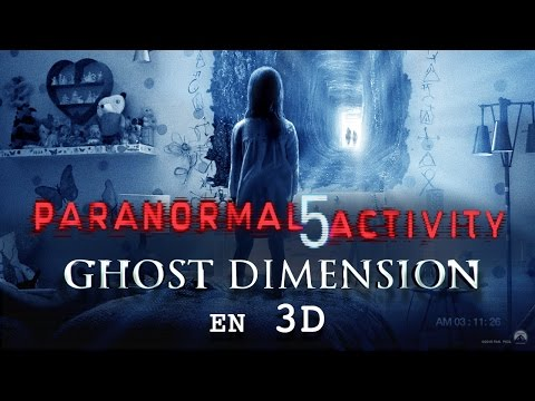 PARANORMAL ACTIVITY 5 GHOST DIMENSION – bande-annonce #2 [VF]de YouTube · Durée :  1 minutes 30 secondes