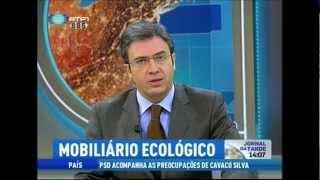 Fenabel | Eco Chair - Jornal Da Tarde Rtp1 | 2 Janeiro'12