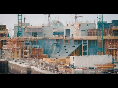 Building Kengo Kuma's V&A Dundee