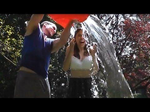 Als ice bucket challenge youtube - Jen and pat in real life ...