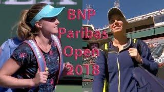 Sasnovich vs Wozniacki Full Highlights / BNP Paribas Open 2018 / Round of 32
