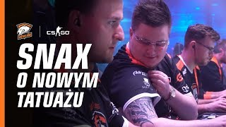 Snax talking tattoo, cats and favorite weapon in CS:GO