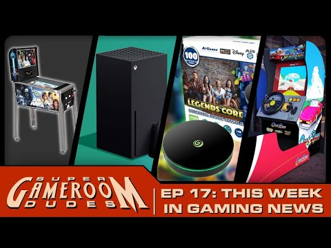 Arcade1Up Star Wars Pinball, OutRun, XBox Series X, AtGames Legends Core, & More! | SGRD Ep. 17 from Detroit Love