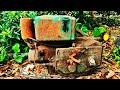 restoration old d8 diesel engine restore rusty antique d8 diesel engine