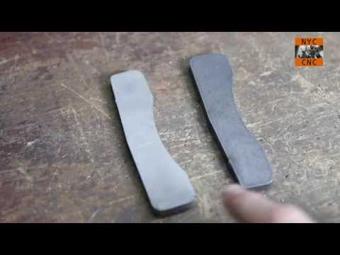 Using Muriatic Acid to remove scale from Hot Rolled Steel!  MFG@Home