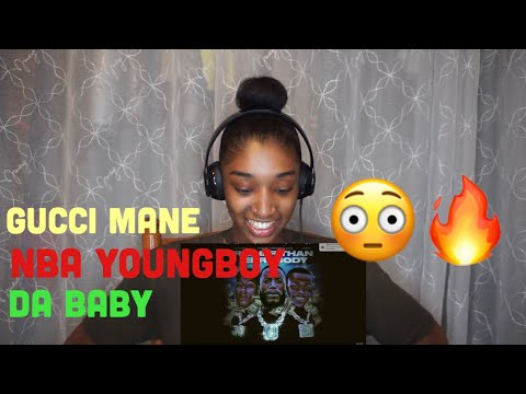 Gucci Mane- Richer Than Errybody (feat. NBA YoungBoy & DaBaby) REACTION!!