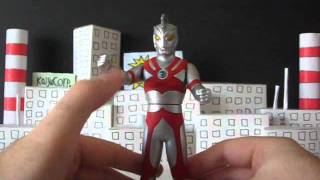Bandai Ultraman Ace (resculpt) Toy Review