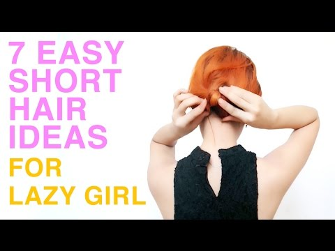 7 short hair-do by lazy girl a.k.a me | Sonia Eryka