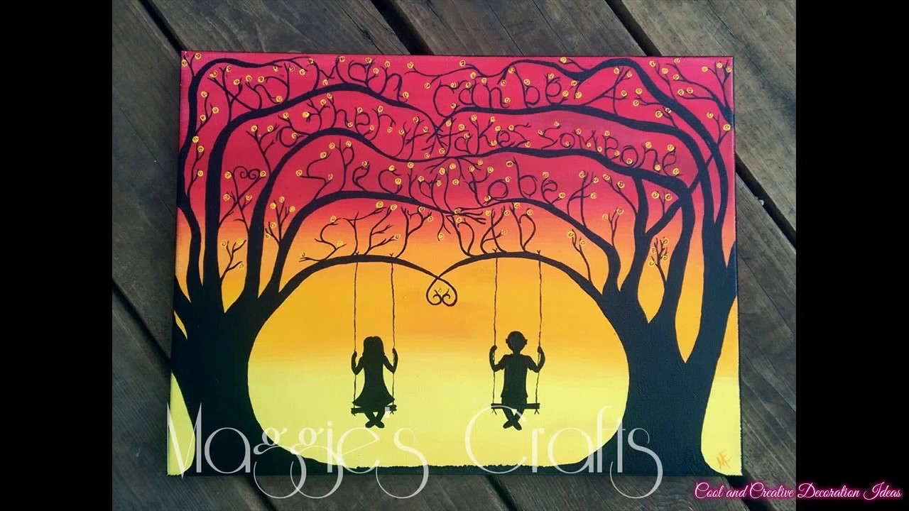 Cute Painting Ideas For Canvas | www.pixshark.com - Images ...