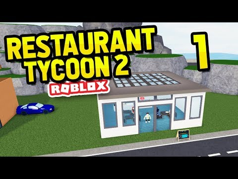 Building My Own Restaurant Restaurant Tycoon 2 1 Youtube - update vehicle simulator beta uncopylocked easy robux today