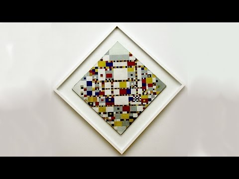 Piet Mondrian, Genesis of Abstract Art - Origins of Modern Art 7