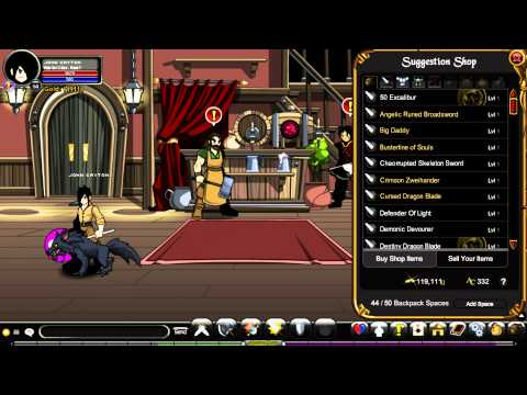 AQWorlds - How to get Fire Lord for FREE!