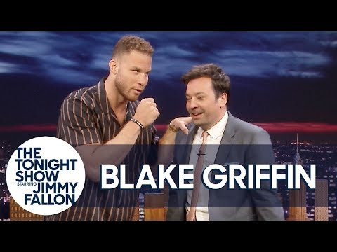 Casey (WDTW) - Pistons Blake Griffin On Jimmy Fallon