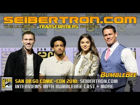 Bumblebee Movie Red Carpet Interviews with k2gx73.cn and Paramount at SDCC 2018