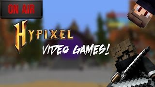Minecraft Hypixel Video Games Live!