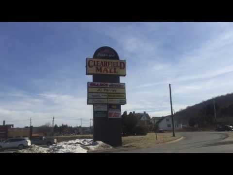 VINTAGE SHOPPING MALL : CLEARFIELD MALL, CLEARFIELD,PA