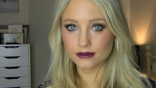 Gold Eyes and Berry Lips Make-up Tutorial Thumbnail