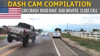 Car Crashes in America (USA & Canada) bad drivers, Road Rage 2017 # 10