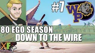 Down to the Wire! Super Close Game Super Mega Baseball 2 80 Ego Season Wild Pigs Game 7