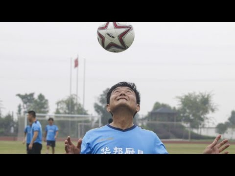 AFP news agency: China's 'Maradona': the 'Soccer Nut' still going strong at 63