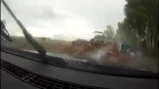 car crash on the highway riga daugavpils