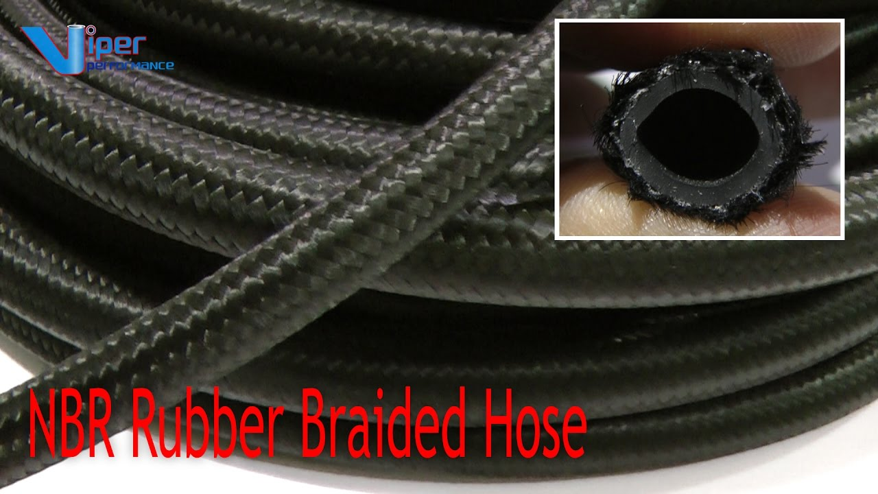 NBR Rubber (braided black outer) Fuel Hose Demonstration Video & NBR Rubber (braided black outer) Fuel Hose Demonstration Video ...