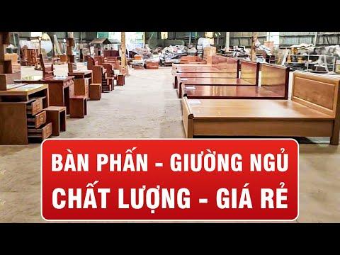 Giá Cực Rẻ - Những mẫu giường ngủ hương đá gõ đỏ chất lượng tại Tiền Giang, Cần Thơ, Sài Gòn