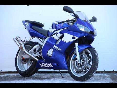 МОТОБАЗА. № 40 А . Yamaha YZF600 R6 1999 год WWW.MOTOBAZA.BIZ