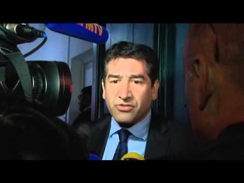Marseille : Samia Ghali (PS), Karim Zeribi (EELL) soir du 1er tour