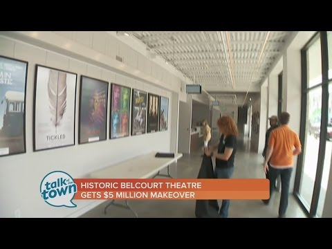 Belcourt Theatre Re-Opens Today